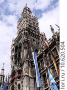 Купить «bavaria munich town hall neues», фото № 10620504, снято 23 марта 2019 г. (c) PantherMedia / Фотобанк Лори