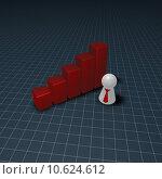Купить «diagram beam bend necktie statistics», иллюстрация № 10624612 (c) PantherMedia / Фотобанк Лори