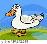Купить «duck farm bird animal cartoon illustration», иллюстрация № 10642388 (c) PantherMedia / Фотобанк Лори