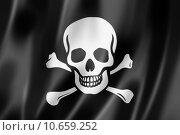Купить «Pirate flag, Jolly Roger», иллюстрация № 10659252 (c) PantherMedia / Фотобанк Лори
