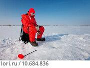 Купить «Fishing on ice», фото № 10684836, снято 18 июня 2019 г. (c) PantherMedia / Фотобанк Лори