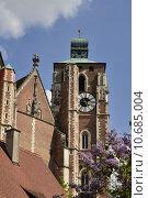 Купить «church cathedral bavaria steeple old», фото № 10685004, снято 23 марта 2019 г. (c) PantherMedia / Фотобанк Лори