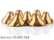 Купить «Chocolate cookies», фото № 10687324, снято 22 февраля 2019 г. (c) PantherMedia / Фотобанк Лори