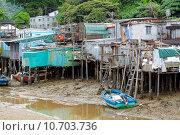 Купить «Tai O fishing village in Hong Kong », фото № 10703736, снято 18 июня 2019 г. (c) PantherMedia / Фотобанк Лори