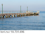 Купить «The wooden platform in Dardanelles. The view from Asia on Europe», фото № 10731696, снято 25 мая 2019 г. (c) PantherMedia / Фотобанк Лори