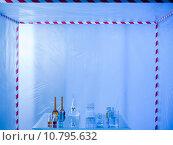 Купить «glassware prepared for experimenting in the lab», фото № 10795632, снято 25 июня 2019 г. (c) PantherMedia / Фотобанк Лори