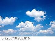 Купить «blue sky», фото № 10803816, снято 20 сентября 2019 г. (c) PantherMedia / Фотобанк Лори