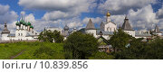 Панорама Ростовского кремля (2015 год). Редакционное фото, фотограф Ковалев Василий / Фотобанк Лори