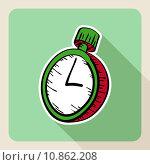 Купить «Hand drawn real estate concept watch.», иллюстрация № 10862208 (c) PantherMedia / Фотобанк Лори