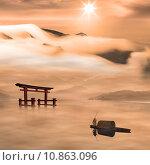 Купить «Beautiful sunrise for adv or others purpose use», фото № 10863096, снято 19 октября 2019 г. (c) PantherMedia / Фотобанк Лори
