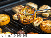 Купить «healthy vegetable alternative barbecue grill», фото № 10866868, снято 15 ноября 2019 г. (c) PantherMedia / Фотобанк Лори