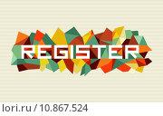 Купить «Trendy abstract geometric design», иллюстрация № 10867524 (c) PantherMedia / Фотобанк Лори