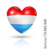 Купить «Love Luxembourg, heart flag icon», иллюстрация № 10885840 (c) PantherMedia / Фотобанк Лори