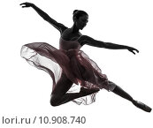 Купить «woman  ballerina ballet dancer dancing silhouette», фото № 10908740, снято 22 марта 2019 г. (c) PantherMedia / Фотобанк Лори