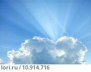 Купить «Cumulus cloud», фото № 10914716, снято 20 сентября 2019 г. (c) PantherMedia / Фотобанк Лори
