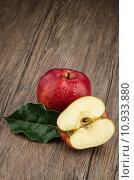 Купить «Apples closeup», фото № 10933880, снято 16 июня 2019 г. (c) PantherMedia / Фотобанк Лори