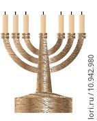 Купить «Menorah. Seven branched candlestick», иллюстрация № 10942980 (c) PantherMedia / Фотобанк Лори
