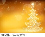 Купить «Christmas tree topic background 3», иллюстрация № 10950940 (c) PantherMedia / Фотобанк Лори