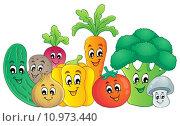 Купить «Vegetable theme image 2», иллюстрация № 10973440 (c) PantherMedia / Фотобанк Лори