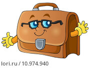 Купить «Image with briefcase theme 1», иллюстрация № 10974940 (c) PantherMedia / Фотобанк Лори