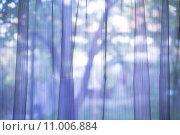 Купить «Purple transparent curtain background», фото № 11006884, снято 13 декабря 2017 г. (c) PantherMedia / Фотобанк Лори