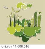 Купить «Go green concept city», иллюстрация № 11008516 (c) PantherMedia / Фотобанк Лори