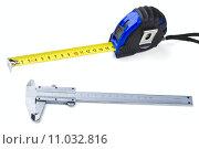 Купить «Measuring tools», фото № 11032816, снято 23 октября 2018 г. (c) PantherMedia / Фотобанк Лори
