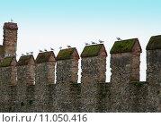 Купить «Castle battlements», фото № 11050416, снято 19 декабря 2018 г. (c) PantherMedia / Фотобанк Лори