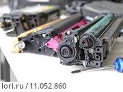Купить «laser toner cartridge service», фото № 11052860, снято 25 марта 2019 г. (c) PantherMedia / Фотобанк Лори