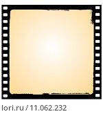 Купить «vector film frame in grunge style», иллюстрация № 11062232 (c) PantherMedia / Фотобанк Лори