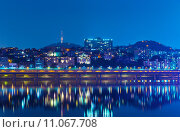 Купить «Seoul by night», фото № 11067708, снято 22 августа 2018 г. (c) PantherMedia / Фотобанк Лори