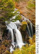 Купить «Waterfall in forest», фото № 11079016, снято 19 декабря 2018 г. (c) PantherMedia / Фотобанк Лори
