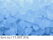 Купить «texture of blue ice background», фото № 11097916, снято 23 февраля 2019 г. (c) PantherMedia / Фотобанк Лори