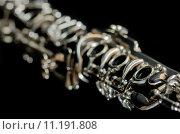 Купить «instrument measure woodwind method clarinet», фото № 11191808, снято 18 марта 2019 г. (c) PantherMedia / Фотобанк Лори