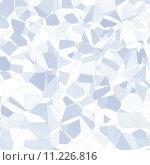 Купить «Abstract blue facet background», фото № 11226816, снято 26 марта 2019 г. (c) PantherMedia / Фотобанк Лори