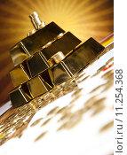 Купить «Finance Concept, coins and gold», фото № 11254368, снято 22 июля 2019 г. (c) PantherMedia / Фотобанк Лори