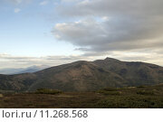 Купить «Rain clouds over the plateau in the mountains», фото № 11268568, снято 15 ноября 2018 г. (c) PantherMedia / Фотобанк Лори