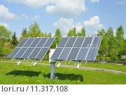 Купить «module solar cells energy solaranlage», фото № 11317108, снято 14 декабря 2018 г. (c) PantherMedia / Фотобанк Лори
