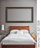 Купить «Beautiful Clean and Modern Bedroom», фото № 11321024, снято 27 мая 2019 г. (c) PantherMedia / Фотобанк Лори