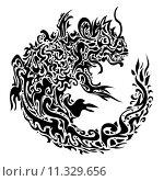 Купить «twisted dragon tattoo», фото № 11329656, снято 17 декабря 2018 г. (c) PantherMedia / Фотобанк Лори