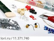 Купить «beading workshop», фото № 11371740, снято 24 января 2019 г. (c) PantherMedia / Фотобанк Лори