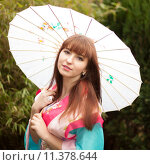 Купить «woman dress china carnival gown», фото № 11378644, снято 22 июля 2019 г. (c) PantherMedia / Фотобанк Лори