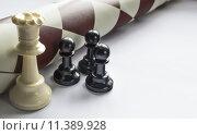 Купить «chess figures - strategy and leadership concept», фото № 11389928, снято 21 сентября 2019 г. (c) PantherMedia / Фотобанк Лори