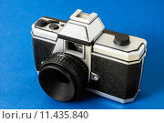 Купить «Classic 35mm Plastic Toy Photo Camera», фото № 11435840, снято 19 июля 2018 г. (c) PantherMedia / Фотобанк Лори
