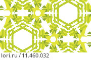Купить «Green Hexagon Pattern», иллюстрация № 11460032 (c) PantherMedia / Фотобанк Лори