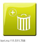 Купить «plus bucket trash mull refuse», фото № 11511708, снято 21 марта 2019 г. (c) PantherMedia / Фотобанк Лори