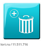 Купить «plus bucket trash mull refuse», фото № 11511716, снято 21 марта 2019 г. (c) PantherMedia / Фотобанк Лори