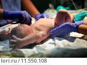 Купить «Новорожденная девочка», фото № 11550108, снято 5 октября 2013 г. (c) Морозова Татьяна / Фотобанк Лори