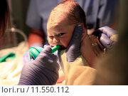 Купить «Новорожденная девочка», фото № 11550112, снято 5 октября 2013 г. (c) Морозова Татьяна / Фотобанк Лори
