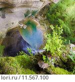 Купить «Кодорское ущелье в Абхазии», фото № 11567100, снято 27 апреля 2015 г. (c) Михаил Кочиев / Фотобанк Лори